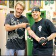 Johnny se fait tatouer chez Shamrock à Los Angeles