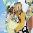Stephanie Pratt et sa nièce lors de la première du dessin-animé Planète 51 à Westwood en Californie le 14 novembre 2009