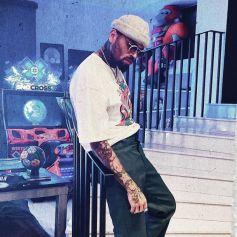 Chris Brown en juin 2021.