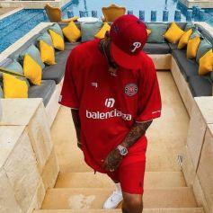 Chris Brown en novembre 2021.