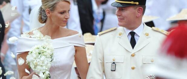 Charlene et Albert de Monaco séparés pour leurs 10 ans de mariage :