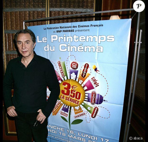 Richar Berry à la conférence de presse du Printemps du Cinéma, le 21 février 2008