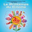 Le Printemps du Cinéma se tiendra les 16, 17 et mars 2008