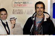 La ravissante Adeline Blondieau et son chéri, Vincent Perrot et bien d'autres ont applaudi... Delon et Belmondo !