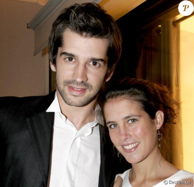 Clémence Castel et Mathieu Johann, ex-couple phare.