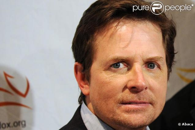 Michael J. Fox à une soirée de charité en faveur de la maladie de Parkinson le 21/11/09 à New York