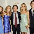Michael J. Fox en famille à une soirée de charité en faveur de la maladie de Parkinson le 21/11/09 à New York