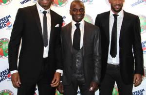 Nicolas Anelka, Claude Makelele, Florent Malouda... Tous venus prêter main forte à Didier Drogba !