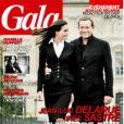 Inés Sastre et Jean-Luc Delarue en couverture du magazine Gala