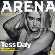 La belle Tess Daly en couverture du magazine Arena...