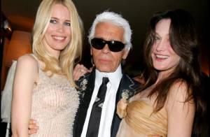 Carla Bruni : Après Jean-Paul Gaultier, elle s'offre... Karl Lagerfeld !
