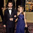 Letizia d'Espagne et Felipe au gala de la presse de Londres le 24/11/09