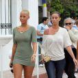 La sexy Amber Rose en balade à Miami