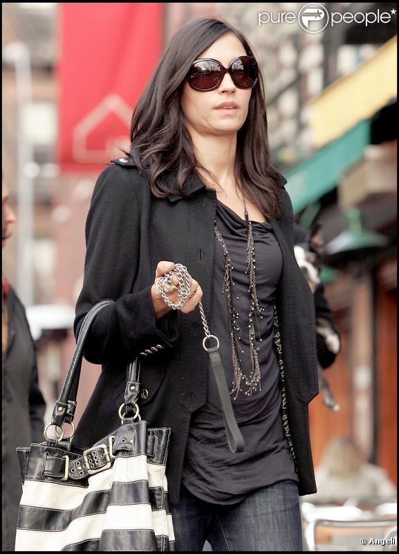 Famke Janssen à New York, le 24 novembre 2009