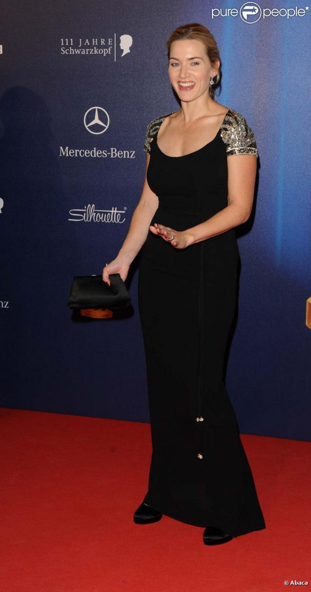 Kate Winslet lors de la cérémonie des Bambi Awards à Potsdam le 26 novembre 2009.