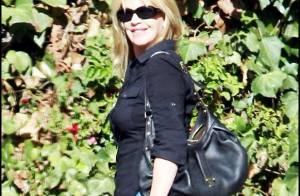 Melanie Griffith : Elle retrouve son chéri Antonio Banderas et leur fille ! L'amour au balcon...