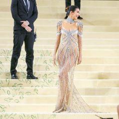 """Kendall Jenner - People au photocall de la soirée du Met Gala (Met Ball) 2021 """"Celebrating In America: A Lexicon Of Fashion"""" au Metropolitan Museum of Art à New York le 13 septembre 2021."""