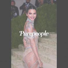Met Gala 2021 : Kendall Jenner tout en transparence, les fesses habillées de strass