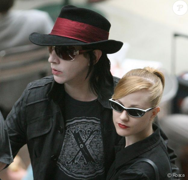 Marilyn Manson et Evan Rachel Wood