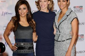Eva Longoria, Halle Berry, Hilary Swank et AnnaLynne McCord... des stars hollywoodiennes sublimes !
