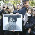 La famille de Filip Nikolic, lors de ses obsèques, le 24 septembre 2009.