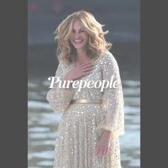 Julia Roberts : Robes de soirée et sourires XXL pour un tournage surprise en plein Paris