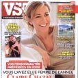 Claire Chazal en couverture de VSD