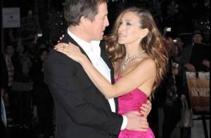 Sarah Jessica Parker très sexy dans les bras de Hugh Grant... devant une belle Elizabeth Hurley !