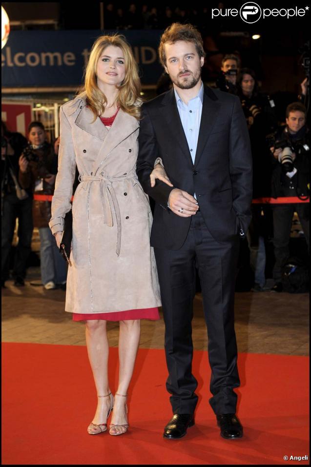 Alice Taglioni et Jocelyn Quivrin en janvier 2009.