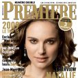 Natalie Portman en couverture du numéro de Première dans lequel on retrouve le portfolio de Jean-Marc Barr...