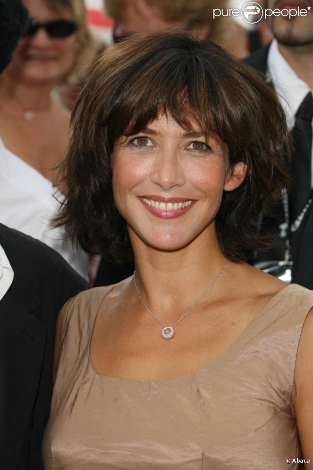 Sophie Marceau a enregistré  Descente de Police  avec Thierry Ardisson.