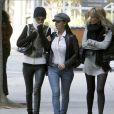 Laeticia Hallyday, rendant visite à son mari Johnny, à l'hôpital Cedars Sinai de Los Angeles.