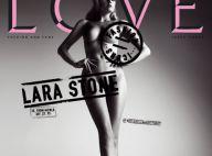 Le top model Lara Stone qui a viré Madonna... se dévoile nue, complètement nue !