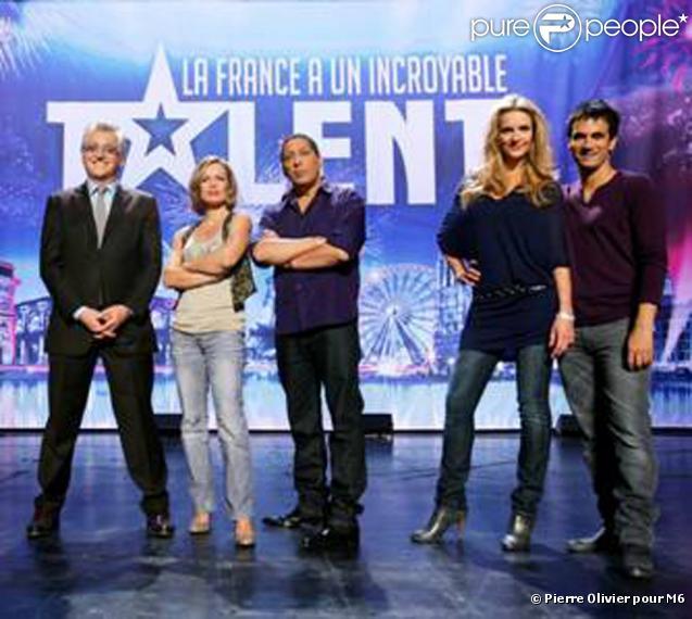 Le jury et les présentateurs d'Incroyable Talent