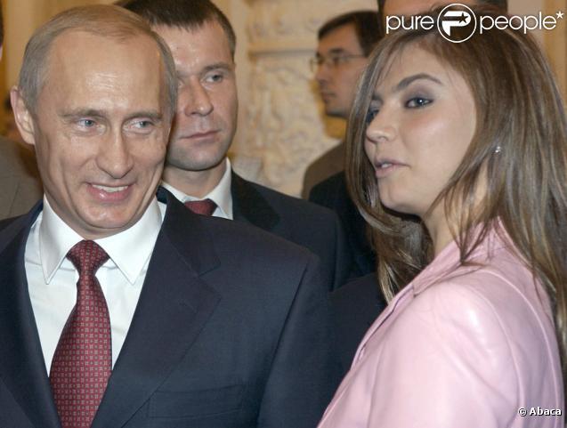 Vladimir Poutine et Alina Kabaeva