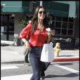 Audrina Patridge à Hollywood, le 16 décembre 2009