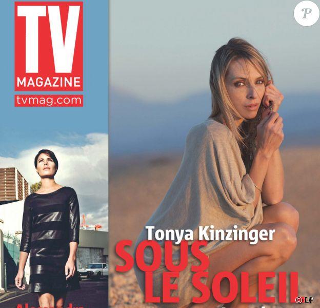 Tonya Kinzinger en couverture de TV Magazine, 20 au 26 décembre 2009