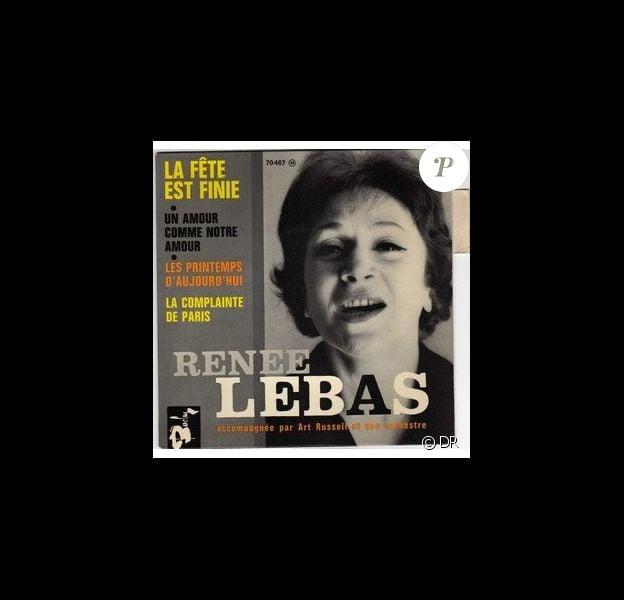 Renée Lebas, chanteuse à succès des années 40 à 60, est décédée ce vendredi 18 décembre.
