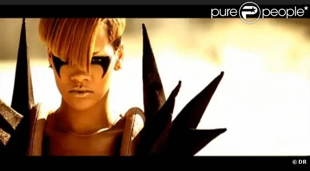 Rihanna dans son dernier clip Hard