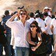 Jean et Jessica Sarkozy en vacances avec Nicolas Sarkozy et Carla Bruni