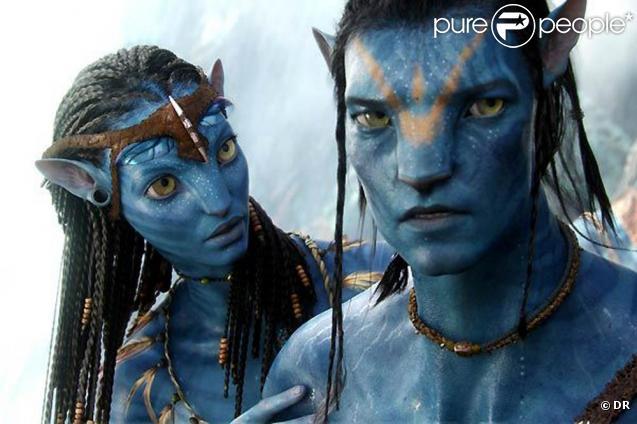 Des images d' Avatar , de James Cameron.