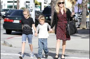 Reese Witherspoon : Seule avec ses enfants... et toujours pas de Jake Gyllenhaal à l'horizon !