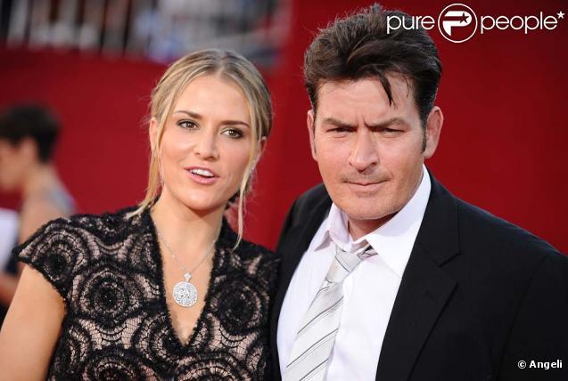 Charlie Sheen et sa femme Brooke Mueller