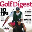 Mauvais timing 2 : la une du numéro de janvier 2010 du  Golf Digest  avec Brack Obama et Tiger Woods.