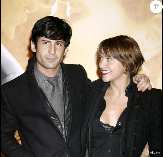 André et Emma de Caunes à Paris le 6 juin 2006.