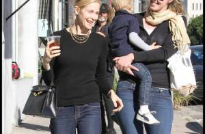 Kelly Rutherford : Une maman aux petits soins pour son fils... mais qui n'oublie pas son look !