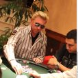 Boris Becker participe à un tournoi de poker en Autriche. 13 janvier 2010