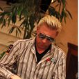 Boris Becker et Slash au PokerStars Caribbean Adventure. 8 janvier 2010