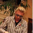 Boris Becker et Slash au PokerStars Caribbean Adventure. 8 janvier 2010