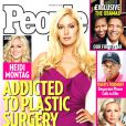 Heidi Montag en couverture du magazine  People